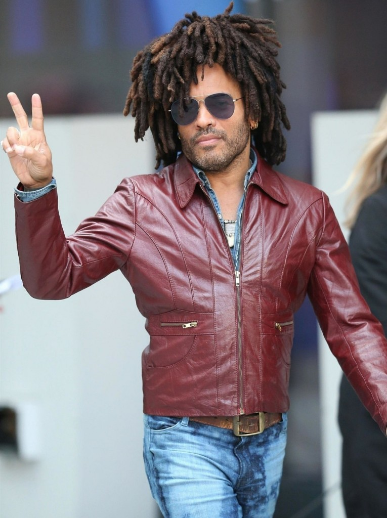 Lenny Kravitz is all about peace at the BBC The One Show