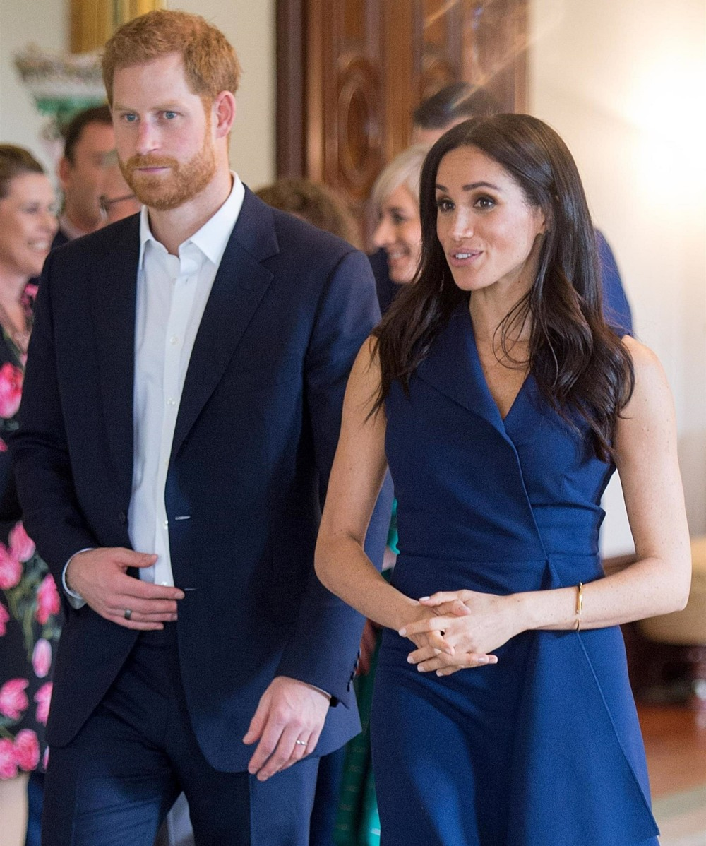 """Prince Harry and Meghan Markle attend """"This Girl Can"""" campaign at Government House"""