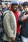 Kanye West picks up some Christmas gifts at Balenciaga