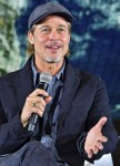 Brad Pitt at the Ad Astra press conference in Tokyo, Japan
