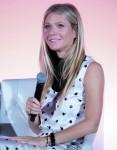 Gwyneth Paltrow attends a seminar in New York City