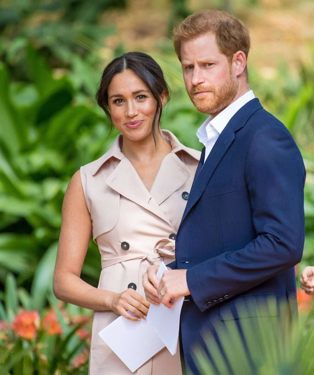 Prince Harry and Meghan Markle pay a visit to Johannesburg