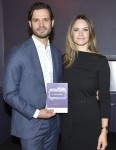Prince Carl Philip and Princess Sofia attend the Prince Couples foundations presentation