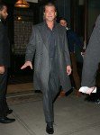 Brad Pitt looks sharp and classy headed to the NYFCC 2020 Gala Awards Dinner