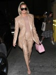 Khloe Kardashian has dinner at Carousel restaurant in Glendale