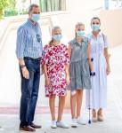 Spanish Royals visit Centro Socioeducativo Naum