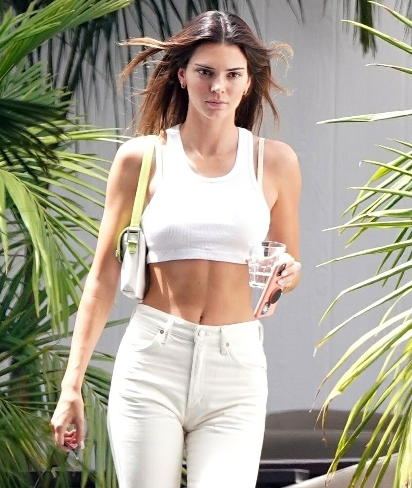Kendall Jenner reveals something for the…