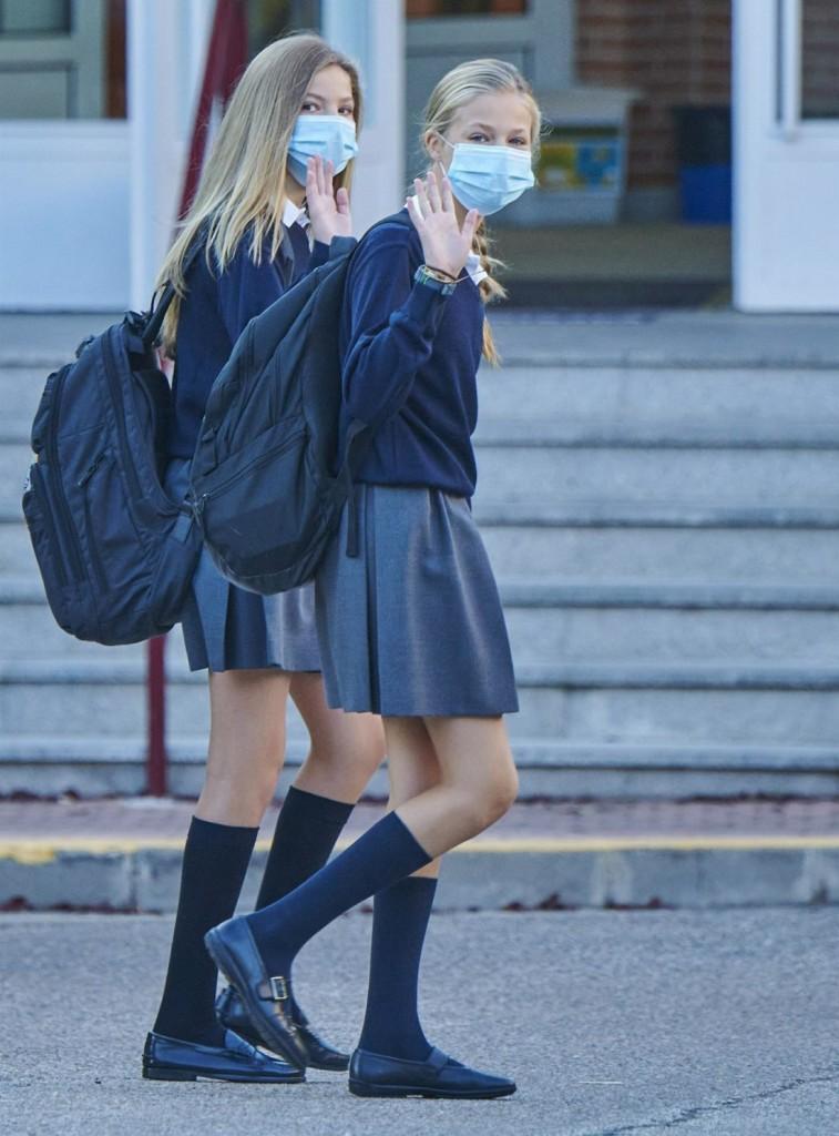 Princess Sofia Of Spain Starts The School Course