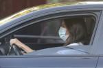 Queen Letizia of Spain brings Princess Leonor and Princess Sofia to school where they had temperature checks