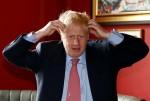 Boris Johnson meets JD Wetherspoon chairman Tim Martin at Wetherspoons Metropolitan Bar in London