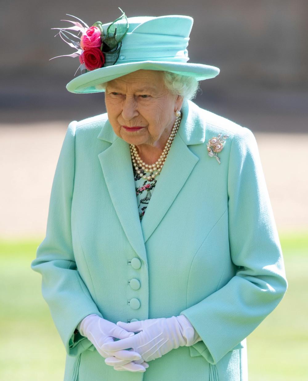 Captain Tom Moore knighthood ceremony, Windsor Castle, UK - 17 Jul 2020