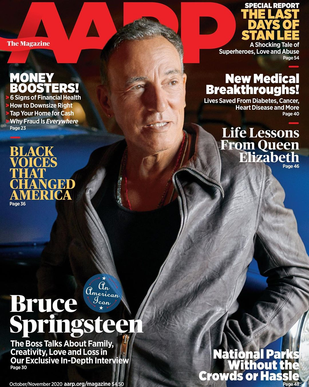 Bruce Springsteen's post pandemic plans 'I am going to throw the wildest party'