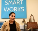 Meghan, the Duchess of Sussex, visits Smart Works charity in West London