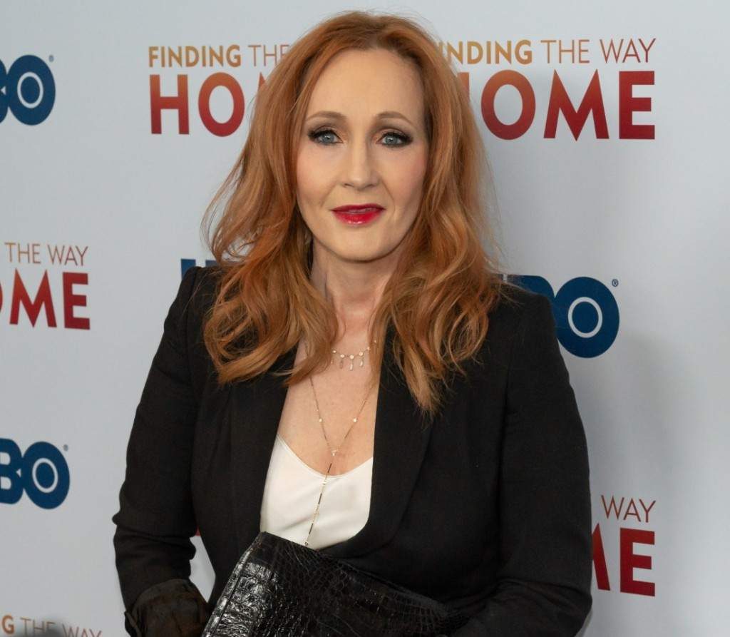 J.K. Rowling at arrivals for FINDING THE...