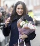 MEGHAN MARKLE AND PRINCE HARRY IN NOTTINGHAM TODAY  01/12/201