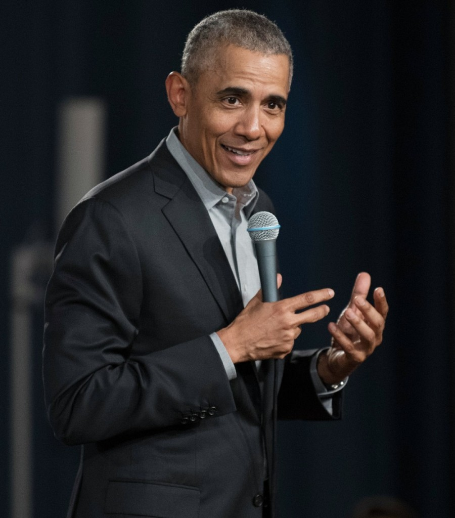 Former US President Barack Obama in Berlin