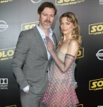 Jaime King, Kyle Newman attends The premiere of 'SOLO Star Wars' in Los Angeles