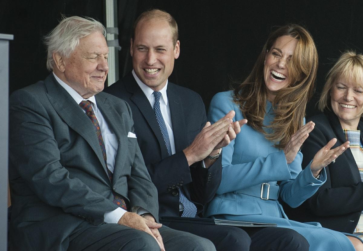 Duke and Duchess of Cambridge visit Birkenhead