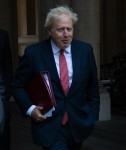 Cabinet Meeting Departures -  Tuesday 1 September 2020 - Downing Street, London