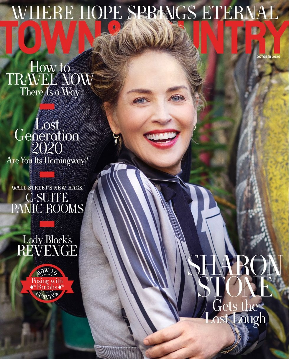sharon stone town country