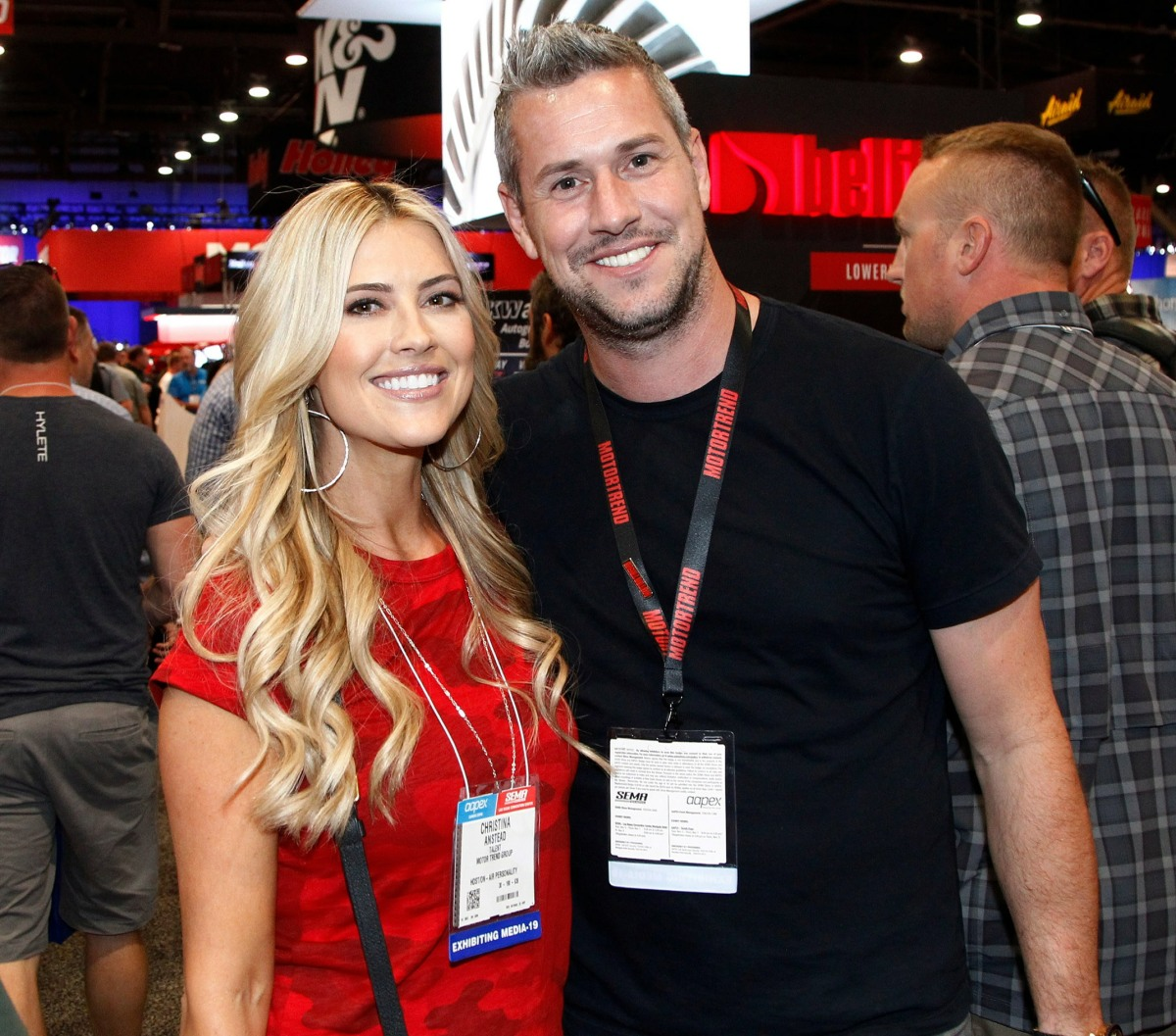 Christina Anstead, Ant Anstead in attend...