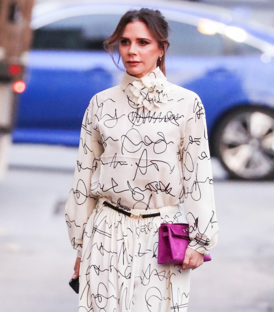 Victoria Beckham seen at Jimmy Kimmel Live! on November 19, 2019 in Hollywood, Los Angeles, California, United States.