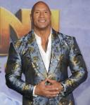 Dwayne Johnson at arrivals for JUMANJI:...