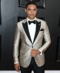 Trevor Noah arrives at the 62nd Annual GRAMMY Awards held at Staples Center on January 26, 2020 in Los Angeles, California, United States.