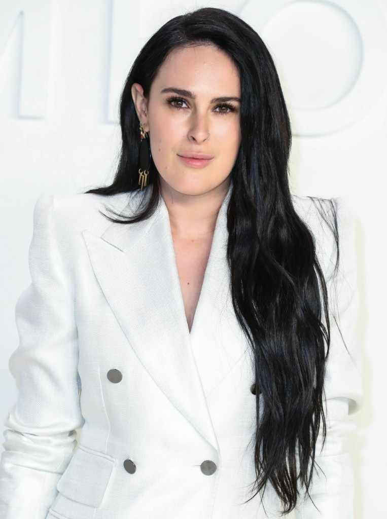 Rumer Willis arrives at the Tom Ford: Autumn/...