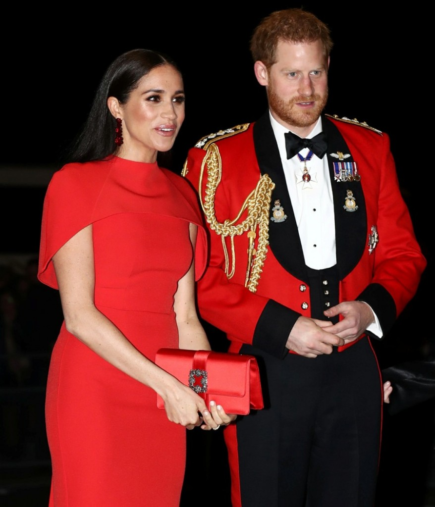 The Duke and Duchess of Sussex attend The Mountbatten Festival of Music in London