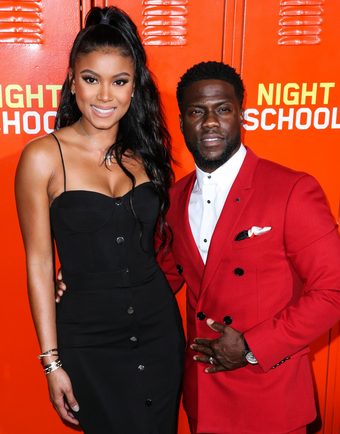 (FILE) Kevin Hart and Wife Eniko Parrish Hart Are Expecting Their Second Baby Together. The comedian...