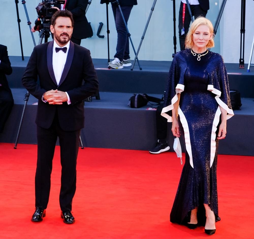 Veronika Franz,  Ludivine Sagnier, Matt Dillon, Cate Blanchett pose on the red carpet at the Opening Ceremony for the 77th Venice International Film Festival ( Berlinale ) on Wednesday 2 September 2020
