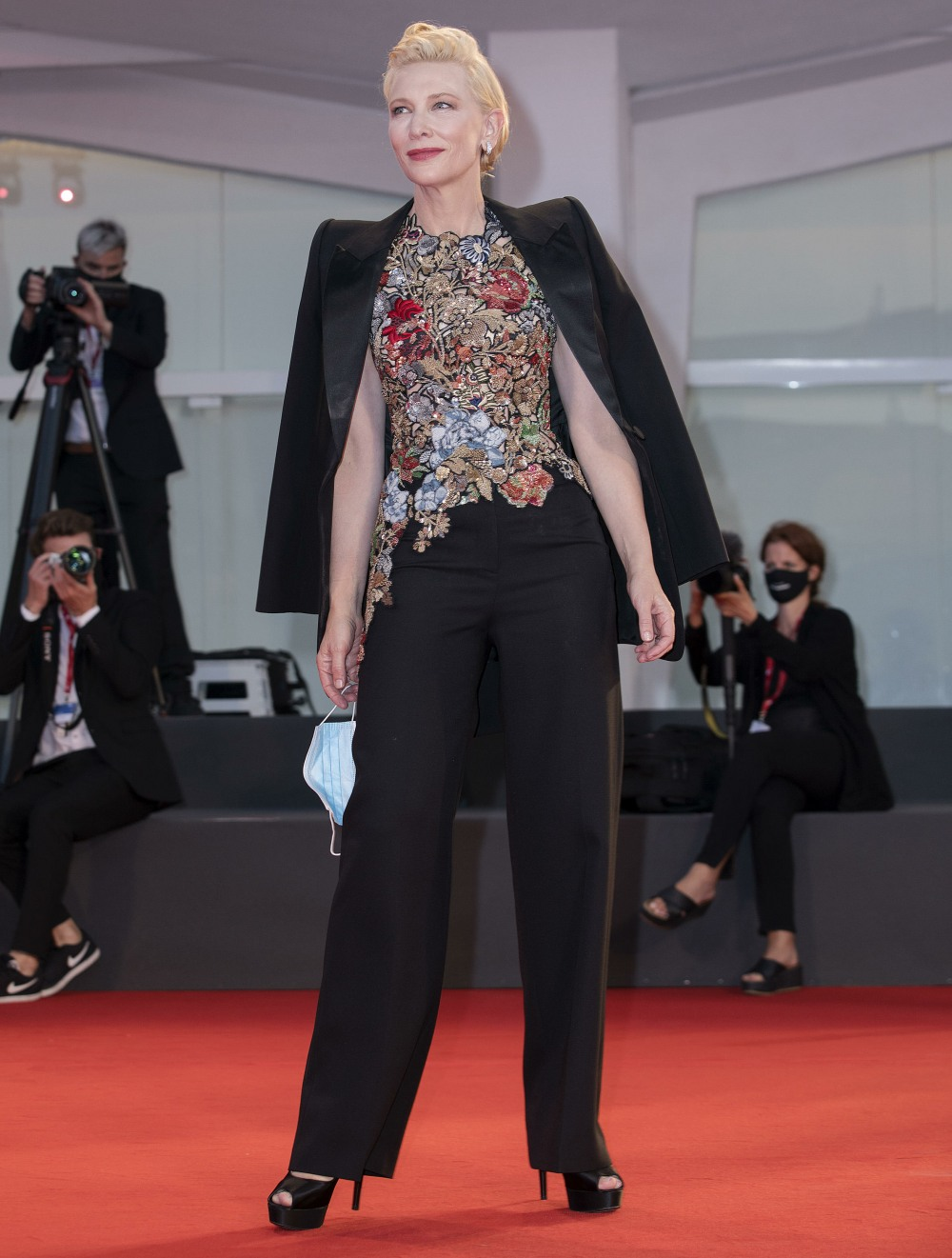 77th Venice Film Festival held in Venice, Italy - The Human Voice Premiere - Arrivals