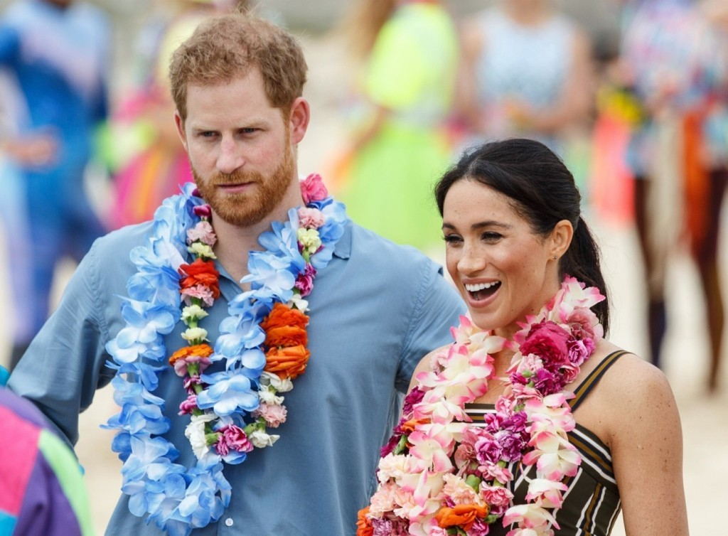 The Duke and Duchess of Sussex visit Bondi Beach