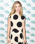 Lily James attends the2019 Into Film Awards
