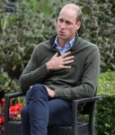 Prince William makes an official visit to Cave Hill Country Park