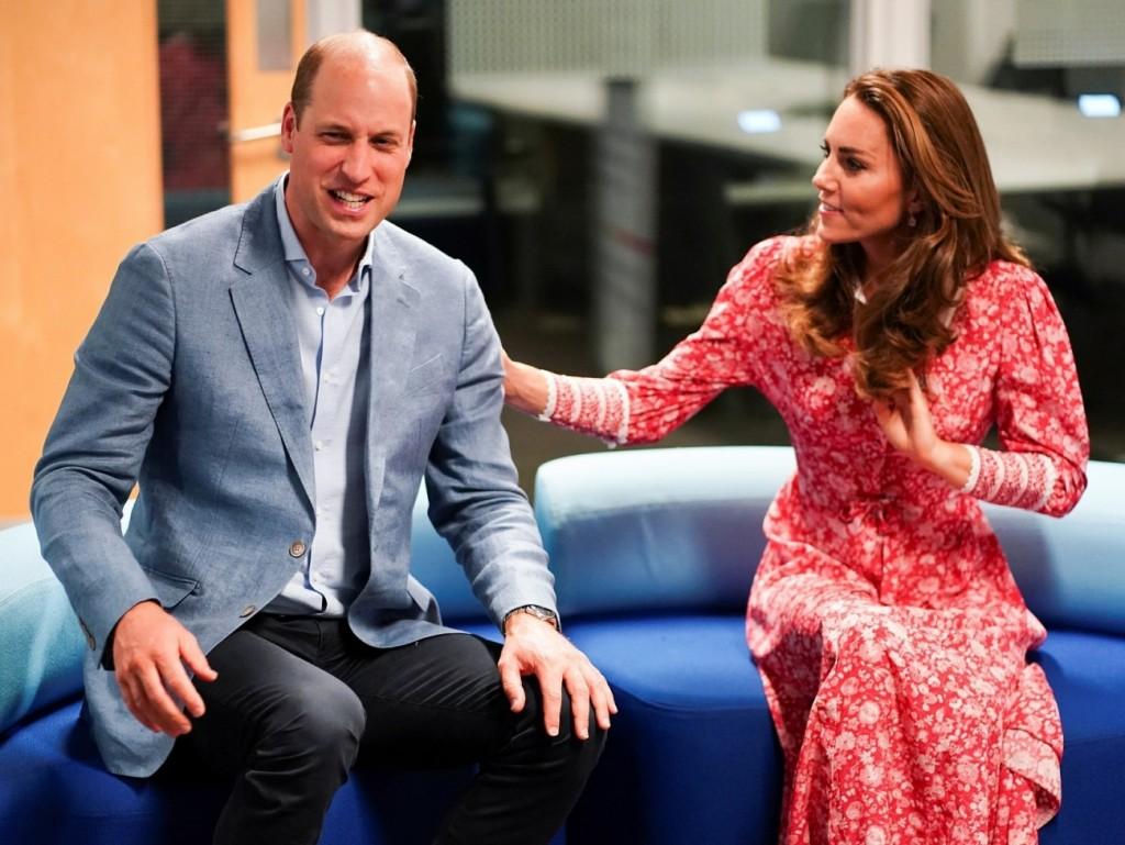 The Duke and Duchess of Cambridge visit the London Bridge Jobcentre
