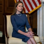 Amy Coney Barrett Capitol Hill Courtesy Calls