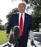 United States President Donald J. Trump departs to Minnesota