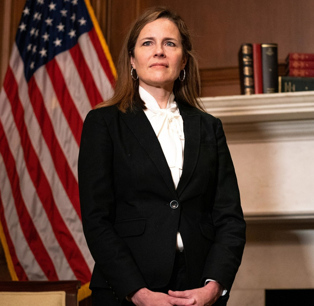 Amy Coney Barrett Capitol Hill Courtesy Calls