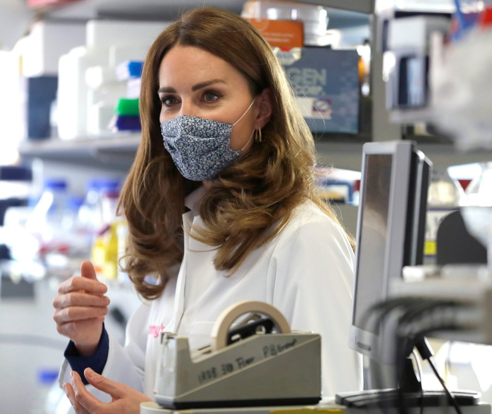 The Duchess of Cambridge visits Imperial College London