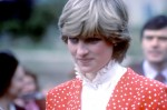 Lady Diana Spencer, the future Princess of Wales