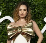Lily James attends The Fashion Awards 2019 at The Royal Albert Hall. London, UK. 02/12/2019