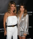 Lori Loughlin and her daughter Olivia Jade at the launch of PrettyLittleThing By Kourtney Kardashian..(Los Angeles, CA)