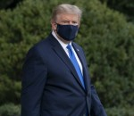 President Trump Departs the White House for Hospital
