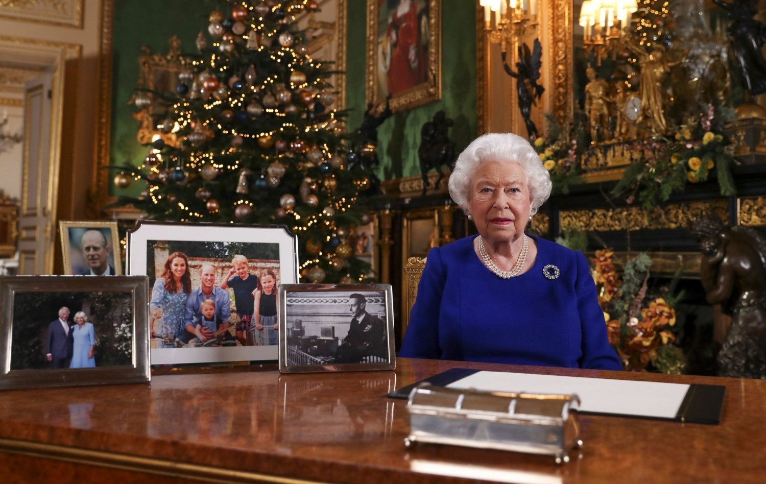 Queen's Christmas broadcast