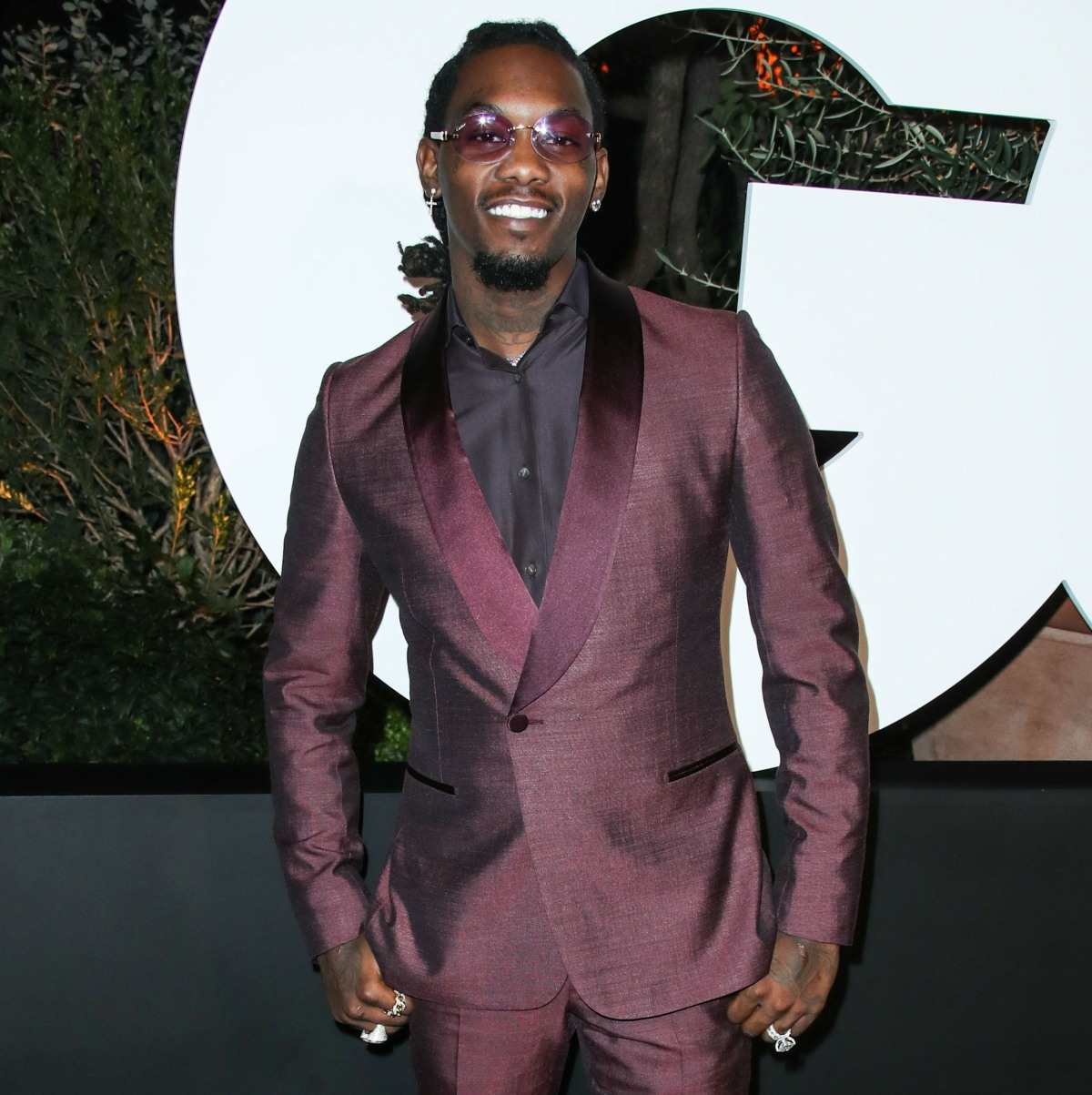 Rapper Offset arrives at the 2019 GQ Men Of The Year Party held at The West Hollywood EDITION Hotel on December 5, 2019 in West Hollywood, Los Angeles, California, United States.