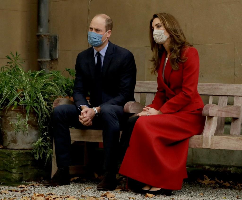 Virus Outbreak Britain Royals