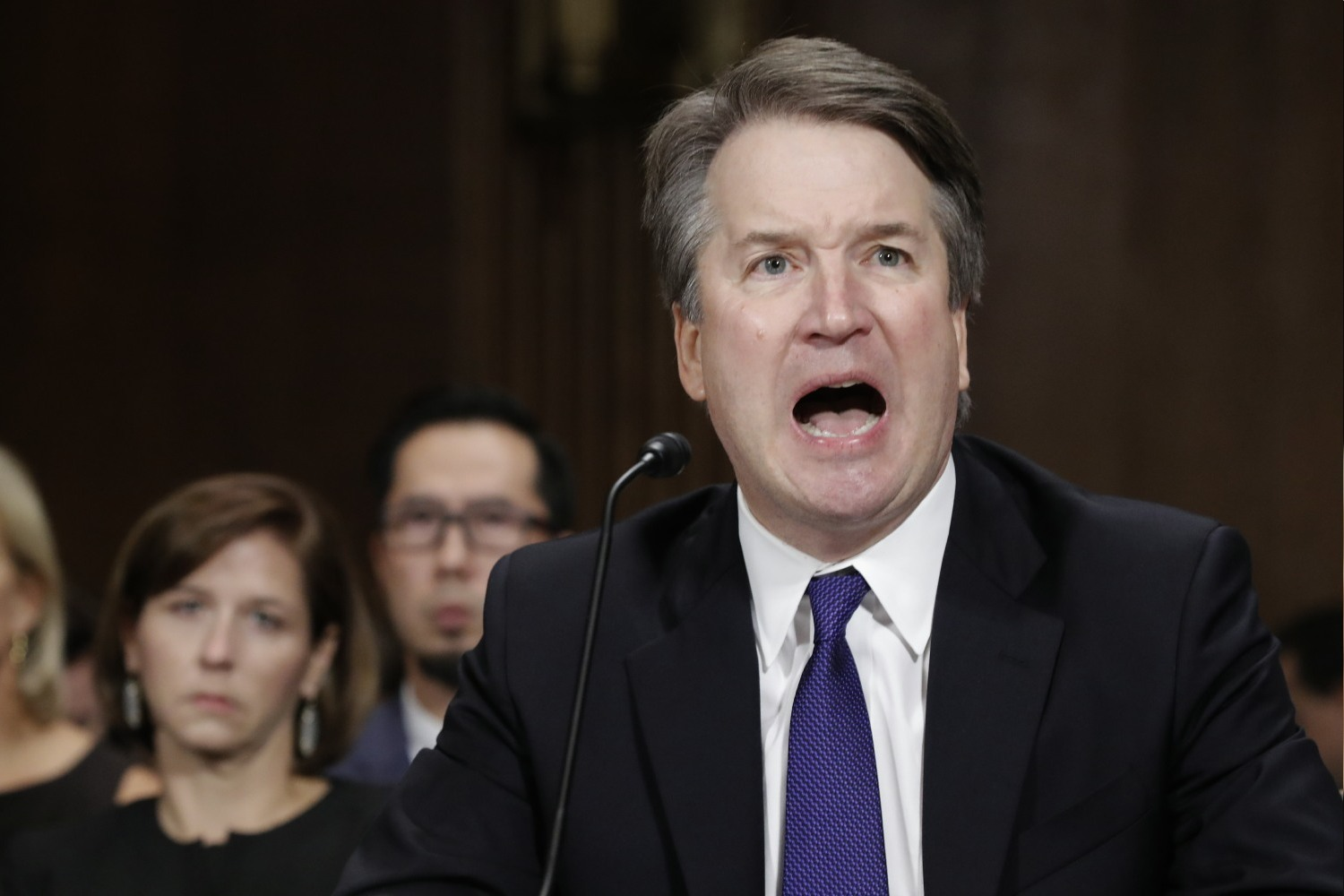 Drunk predator Brett Kavanaugh ruled that mail-in votes shouldn't count
