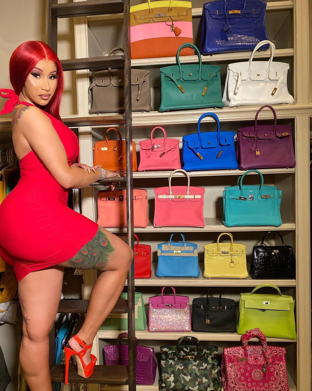 Cardi B addresses the idea that her Birkin bag collection is 'devaluing' the brand